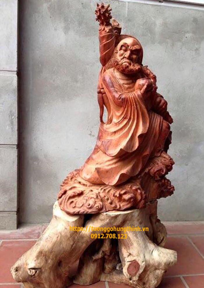 Giải mã ý nghĩa sâu xa của tượng Đạt Ma sư tổ