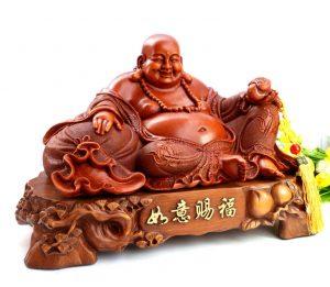 Những vị trí đắc địa đặt tượng gỗ Phật Di Lặc Hô tài Gọi Lộc